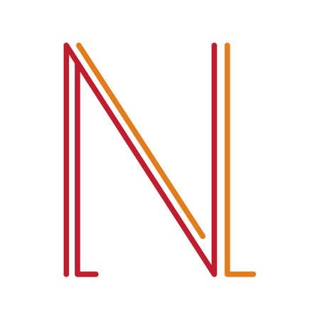 basic letters: letter n