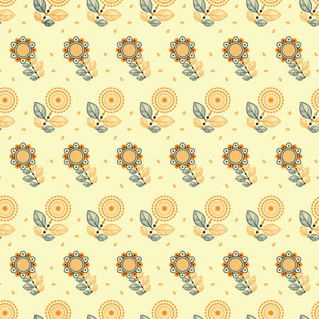 floral pattern background Illustration