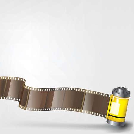 camera strip Ilustração