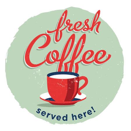 fresh coffee served here