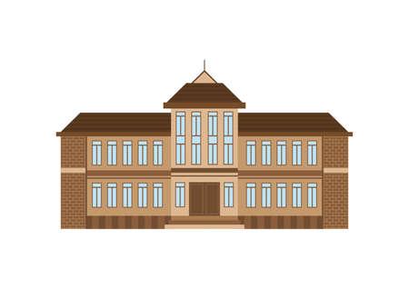school building Çizim