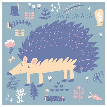 sleep hedgehog