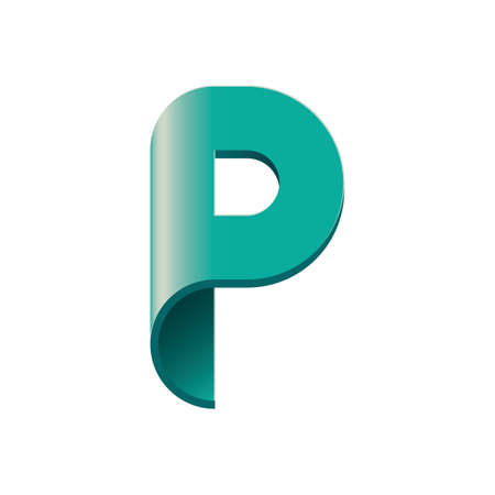 alphabet p Banco de Imagens - 76966526