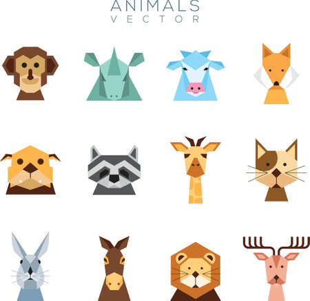 Collection of animal vectors