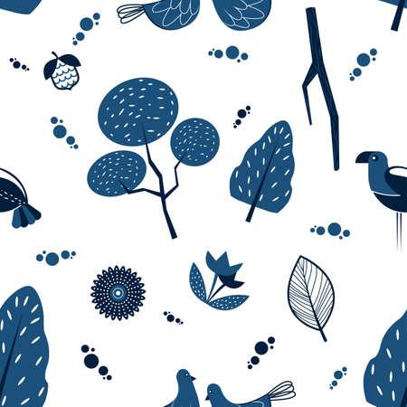 Nature background design Çizim