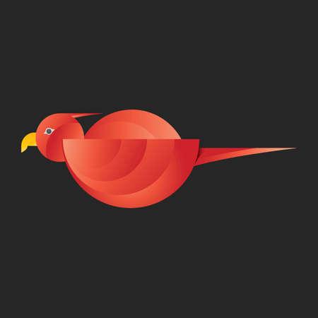 Abstract bird Illustration