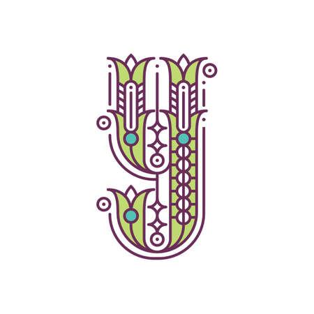 alphabet y Illustration