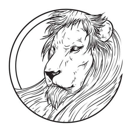 dangerous: leo Illustration