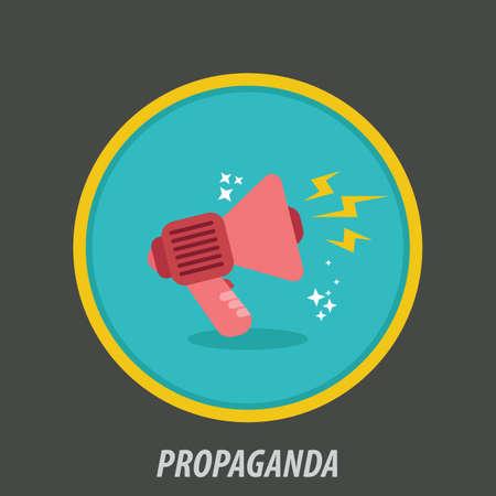 propaganda icon Illustration