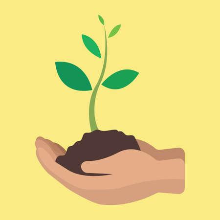 Icône de concept de croissance Banque d'images - 76963484