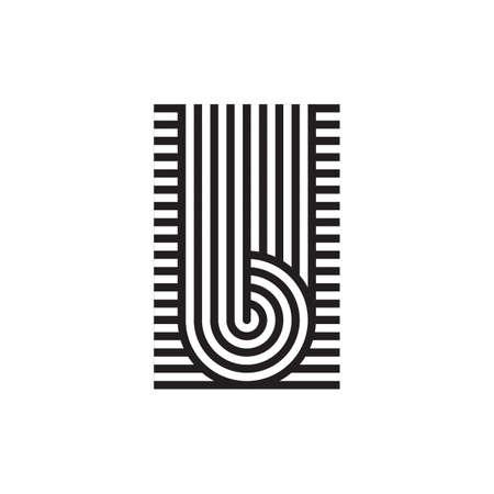 alphabet u Illustration