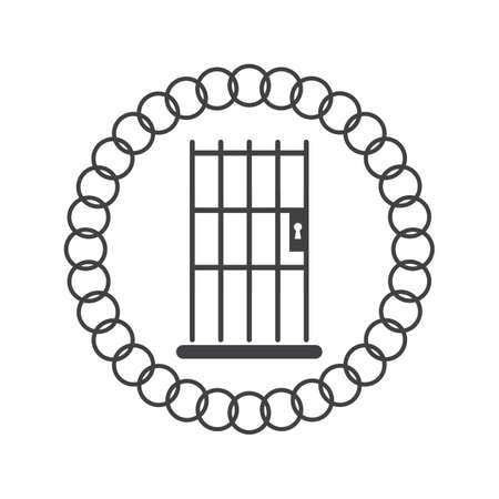 刑務所バーのデザイン