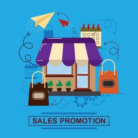 Sales promotion concept.