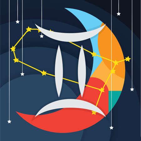 Gemini icon. Иллюстрация