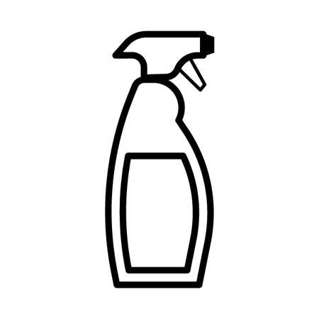 cleaning spray bottle