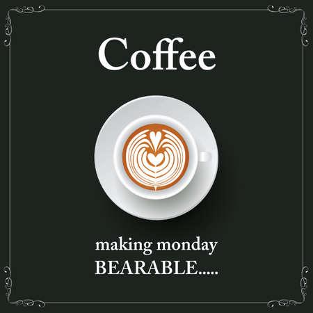 coffee making monday bearable