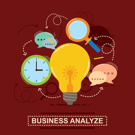 business analyze concept Çizim