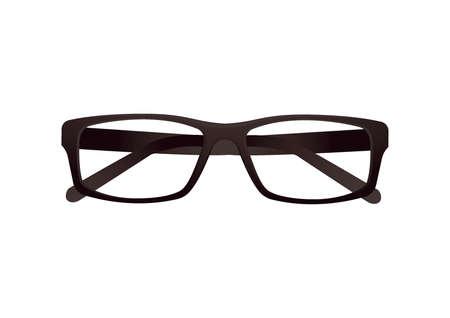 eyewear fashion: folded spectacles Illustration
