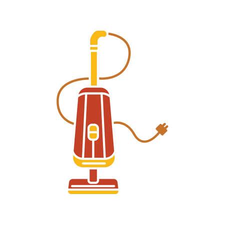 upright vacuum cleaner Illustration
