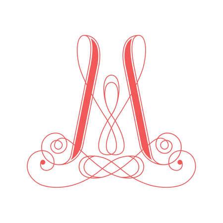 アルファベット m