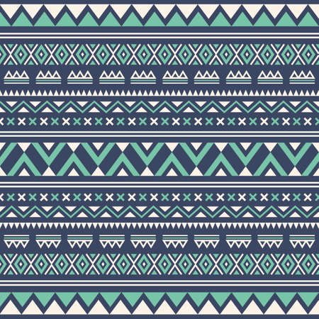 Aztec seamless wallpaper background Çizim