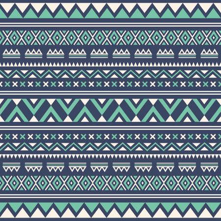 Aztec seamless wallpaper background Illustration