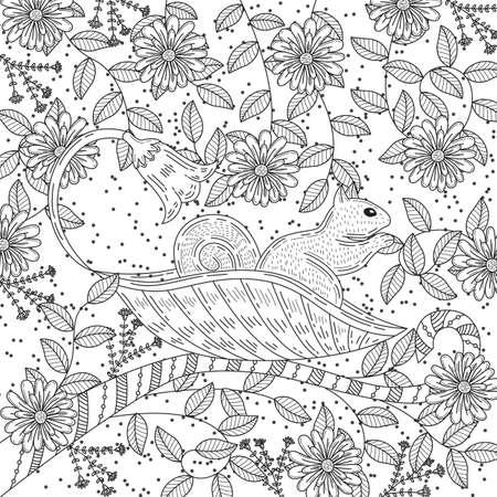 Diseño Intrincado De Serpientes Ilustraciones Vectoriales, Clip Art ...