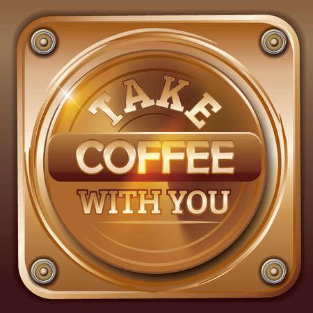 コーヒーを取る