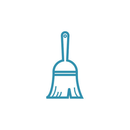 Hand sweeper vector illustration