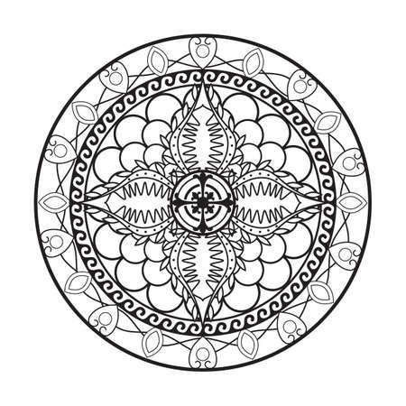 Conception de complexe abstrait Banque d'images - 77372475