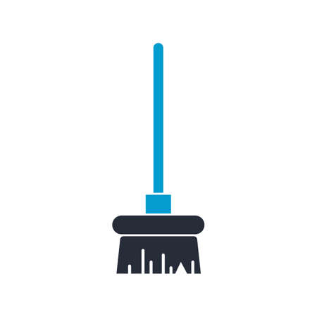 Broomstick vector illustration