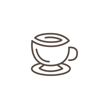 Cup of coffee illustration vector Illustration