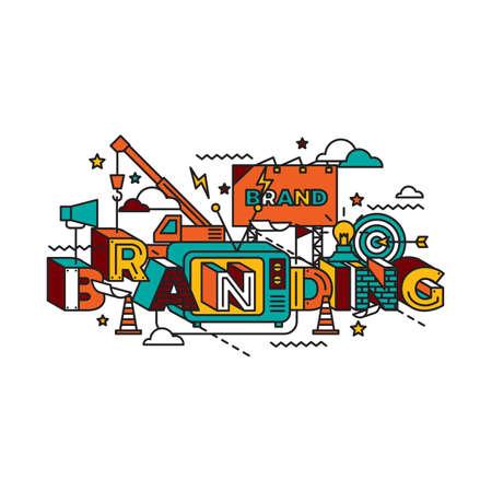 ブランディング レタリング デザイン
