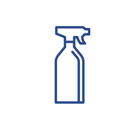 Spray bottle vector illustration design