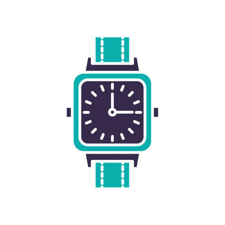 Wristwatch analog simple vector