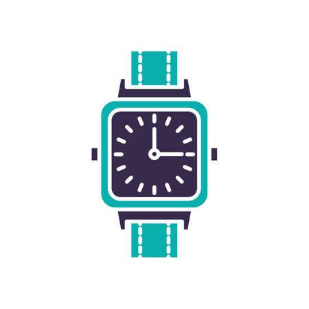 Wristwatch analog simple vector Stock Vector - 77372585