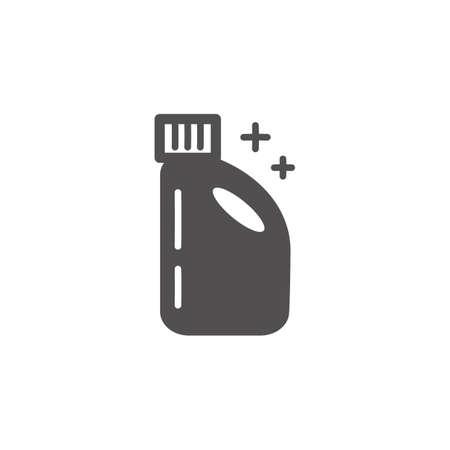 Detergent bottle minimalism simple design Illustration