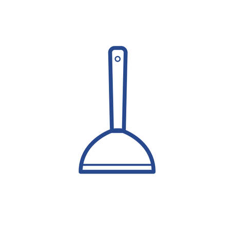 Plunger vector icon