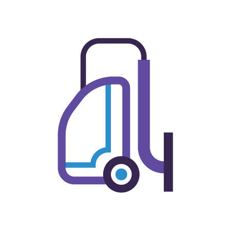 Vacuum cleaner vector illustration Ilustrace
