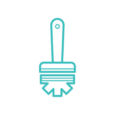 Toilet brush vector
