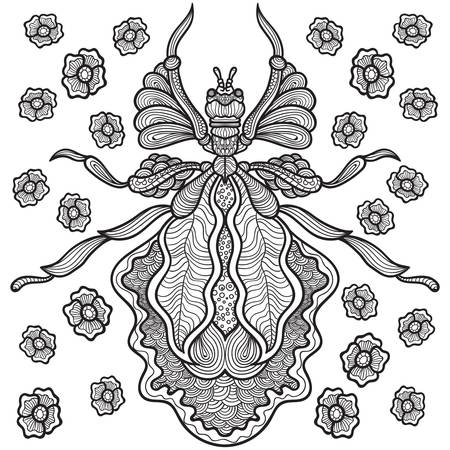 Intricate insect design