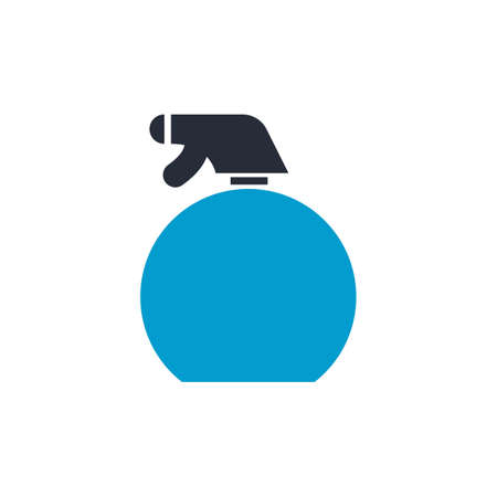 Spray bottle vector illustration