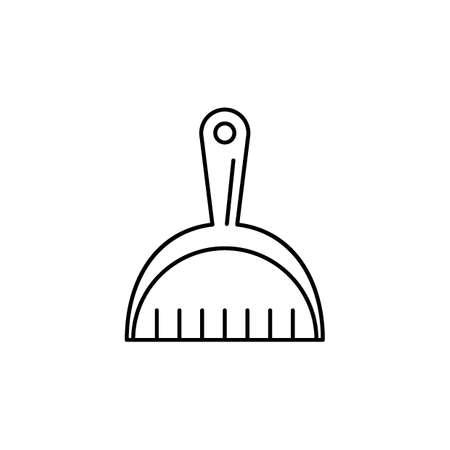 Stofzuiger reiniging gereedschap vectorillustratie