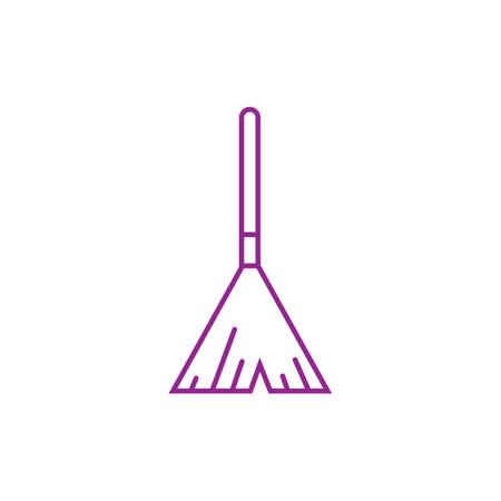 broomstick Ilustração