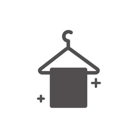 Hand towel vector illustration Ilustração
