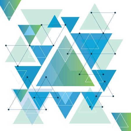 Abstracte achtergrondontwerp geometrische vectorillustratie