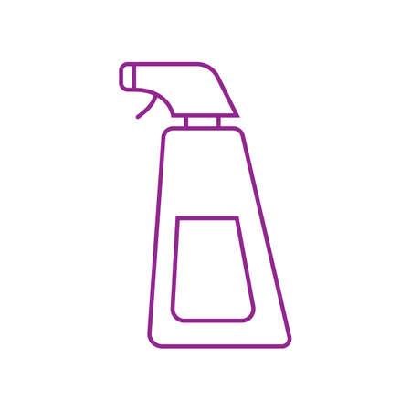 Spray bottle vector illustration