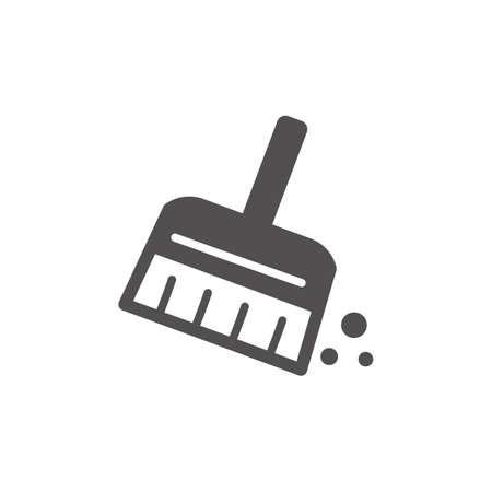 Handpenseel icoon Stock Illustratie