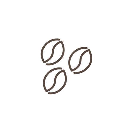Coffee beans vector illustration Illustration