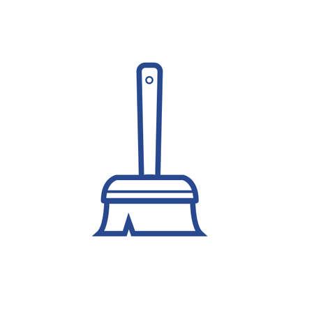 Broomstick vector illustration